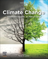 Climate change Planet Earth book cover